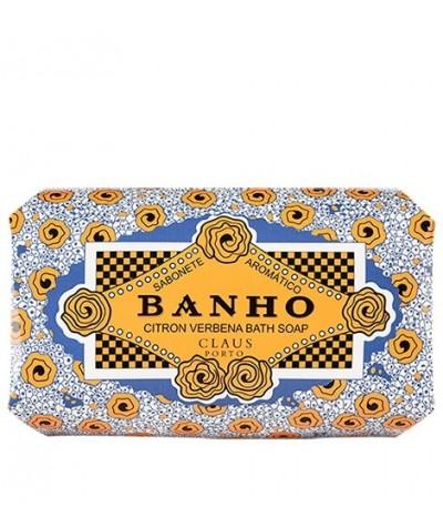 Jabón en pastilla Claus Porto Banho caja