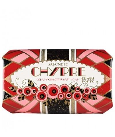 Jabón en pastilla Claus Porto Chypre caja