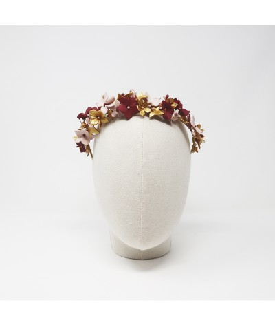 Tocado flores Calixta